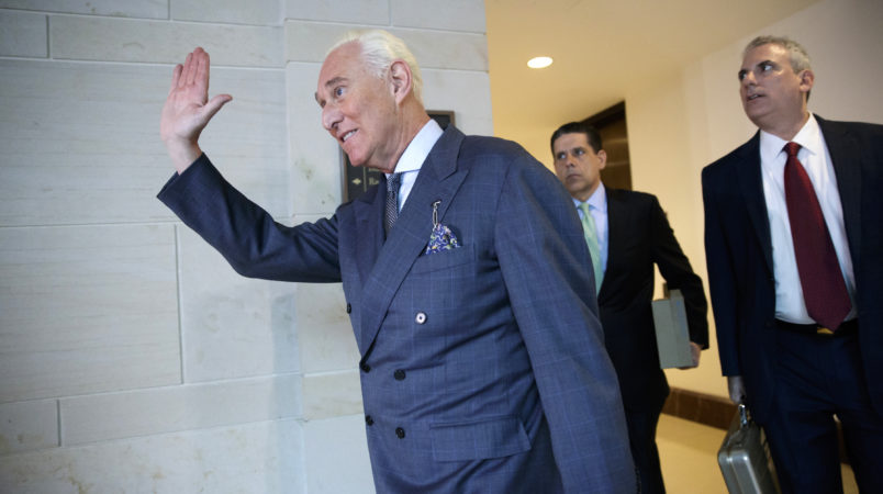 Mueller investigating whether Roger Stone met with Assange