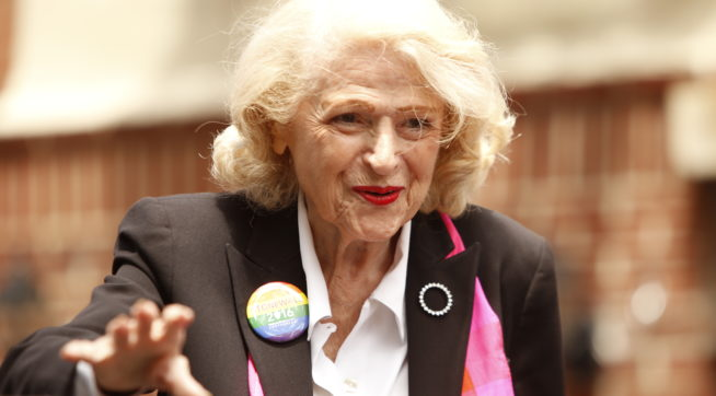 Gay Rights Pioneer Edith Windsor Dies at 88
