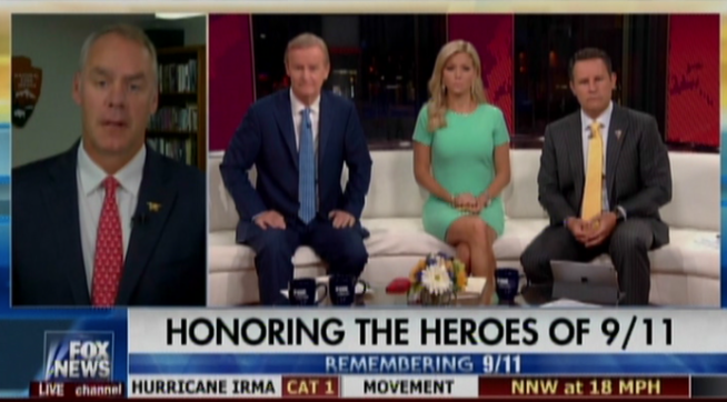 Fox and Friends host equates 9/11 memorial to Confederate statue