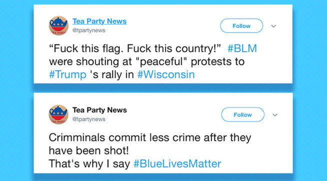 photo image Russian Trolls Promoted Trump While Trashing Black Lives Matter On Twitter