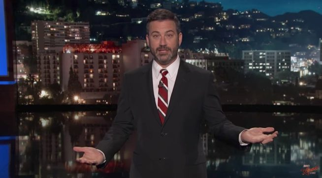 Kimmel Calls McCain a Hero for Voting Against Obamacare Repeal