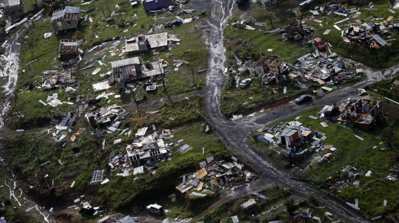 Hurricane Maria killed 4500 in Puerto Rico, 70 times official toll
