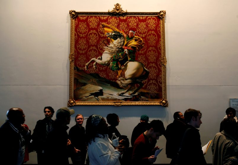 Obama picks Kehinde Wiley to paint official Presidential portrait