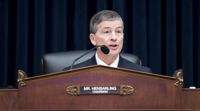 Hensarling, GOP Lawmaker Who Oversees Financial Firms, to Retire