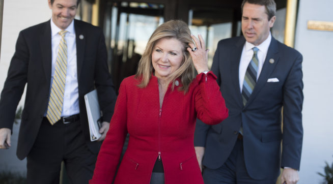 Twitter backtracks after blocking 'inflammatory' Marsha Blackburn ad