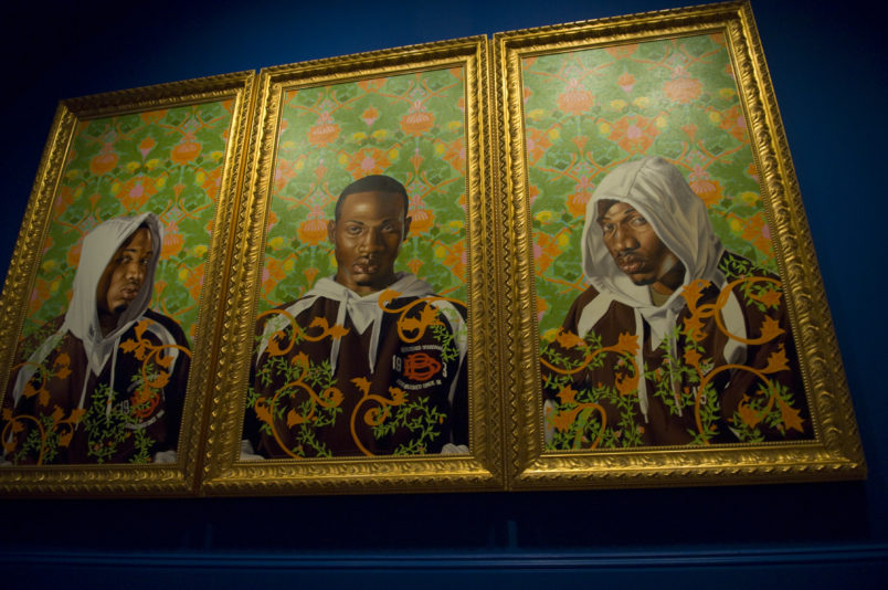 The Obamas Choose Artist Kehinde Wiley To Paint Their Official Presidential Portrait