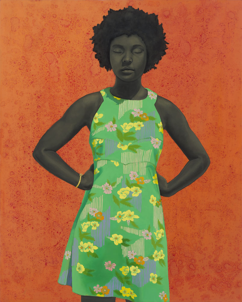 Baltimore artist Amy Sherald to paint Michelle Obama's official portrait