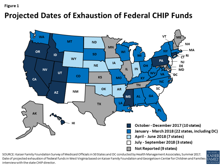 Which States Are Hit Hardest By Failure To Fund Children's