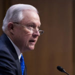 """UNITED STATES - OCTOBER 18: Attorney General Jeff Sessions testifies during the Senate Judiciary Committee hearing on Full committee hearing on """"Oversight of the U.S. Department of Justice"""" on Wednesday, Oct. 18, 2017. (Photo By Bill Clark/CQ Roll Call) (CQ Roll Call via AP Images)"""