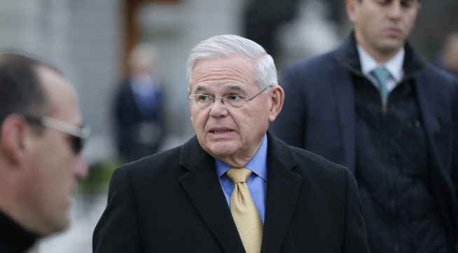 Judge Declares a Mistrial in Senator Menendez's Bribery Trial