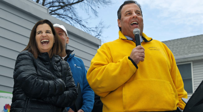 Christie To Get Home County Road Named After Him Despite Low Ratings
