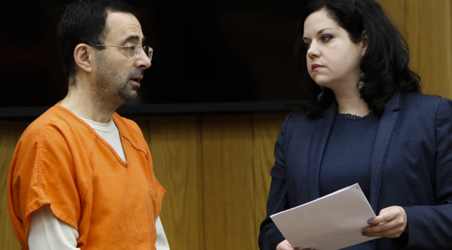 photo image Ex-USA Gymnastics Doctor Sentenced To 60 Years In Prison For Child Porn Crimes