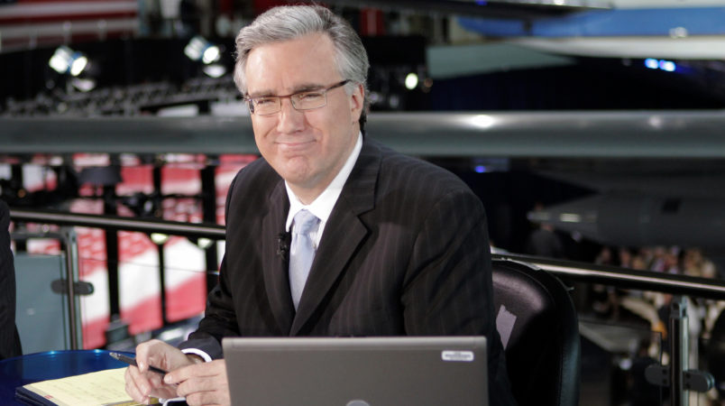 **FILE**Keith Olbermann of MSNBC poses at the Ronald Reagan Library on  May 3, 2007 in Simi Valley, Calif., where he was host for MSNBC's coverage of the first debate among Republican presidential candidates for the 2008 election. MSNBC is replacing Keith Olbermann and Chris Matthews as co-anchors of political night coverage with David Gregory, and will use the two newsmen as commentators.(AP Photo/Mark J. Terrill)