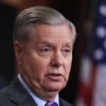 Sen. Lindsey Graham, R-S.C., speaks on why alleged attacker in New York should be held as enemy combatant during a news conference on Capitol Hill in Washington, Wednesday, Nov. 1, 2017.  (AP Photo/Manuel Balce Ceneta)