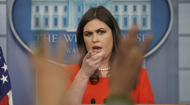 White House Still Won't Say If Trump Believes Moore Accusers