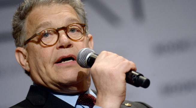 Franken cut from broadcast of Letterman's Mark Twain Prize presentation