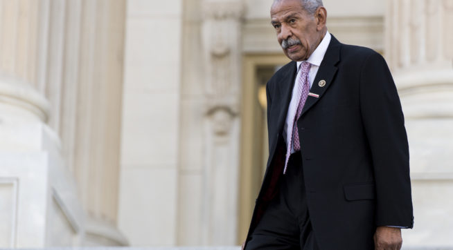 Rep. John Conyers steps down amid sexual harassment investigation