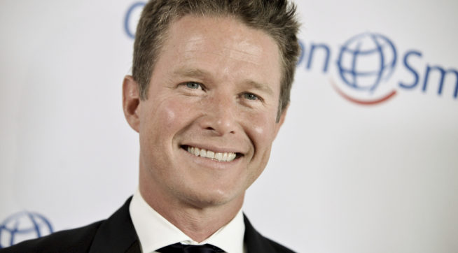 """FILE - In this Sept. 19, 2014 file photo, Billy Bush arrives at the Operation Smile's 2014 Smile Gala in Beverly Hills, Calif. NBC News has fired """"Today"""" show host Billy Bush, who was caught on tape in a vulgar conversation about women with Republican presidential nominee Donald Trump before an """"Access Hollywood"""" appearance. Bush was suspended at the morning show two days after contents of the 2005 tape were reported on Oct. 7. NBC and Bush's representatives had been negotiating terms of his exit before Monday's announcement. (Photo by Richard Shotwell/Invision/AP, File)"""