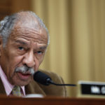 Rep. John Conyers, D-Mich., speaks during a hearing of the House Judiciary subcommittee on Crime, Terrorism, Homeland Security, and Investigations, on Capitol Hill, Tuesday, in Washington, April 4, 2017. (AP Photo/Alex Brandon)