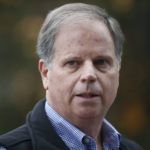 Democratic senatorial candidate Doug Jones speaks at a news conference, Monday, Dec. 4, 2017, in Dolomite, Ala. (AP Photo/Brynn Anderson)