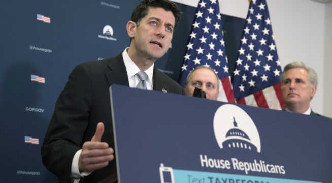 House Conservatives almost  derail tax bill in procedural vote