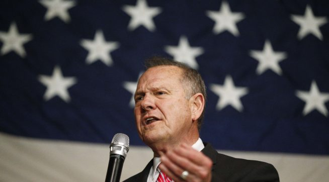 Alabama Republican Senate Hopeful Roy Moore: America Was 'Great' During 'Slavery'