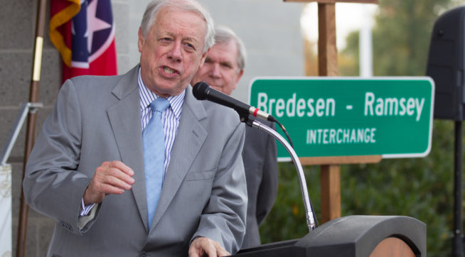 News reports say Bredesen will challenge Blackburn for Senate
