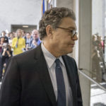 Sen. Al Franken, D-Minn., returns to his office after telling reporters he's embarrassed and ashamed amid sexual misconduct allegations but plans to continue his work in Congress, on Capitol Hill in Washington, Monday, Nov. 27, 2017. The allegations arose after Los Angeles radio personality Leann Tweeden released a photo showing Franken, then a comedian, reaching out as if to grope her while she slept on a military aircraft during a USO tour in 2006,  (AP Photo/J. Scott Applewhite)
