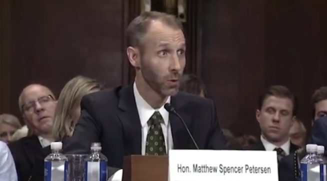 Video Shows Trump Judicial Nominee Unable To Answer Basic Questions Of Law
