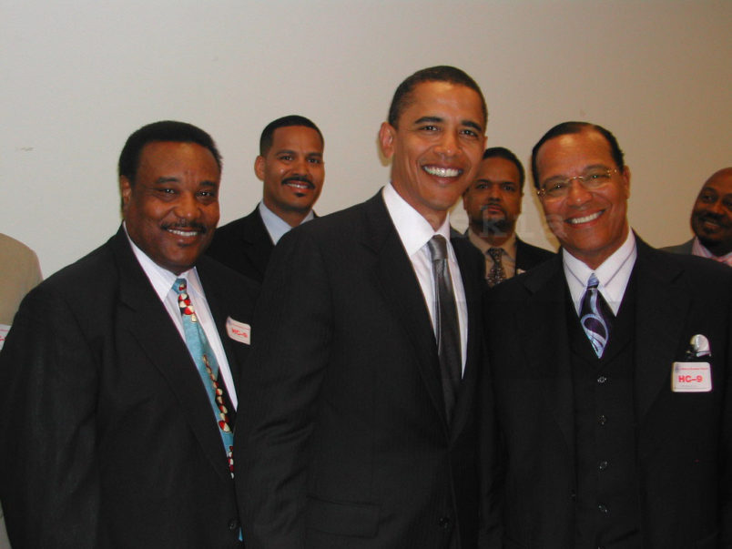 'Secret' 2005 Photo of Obama and Farrakhan Resurfaces