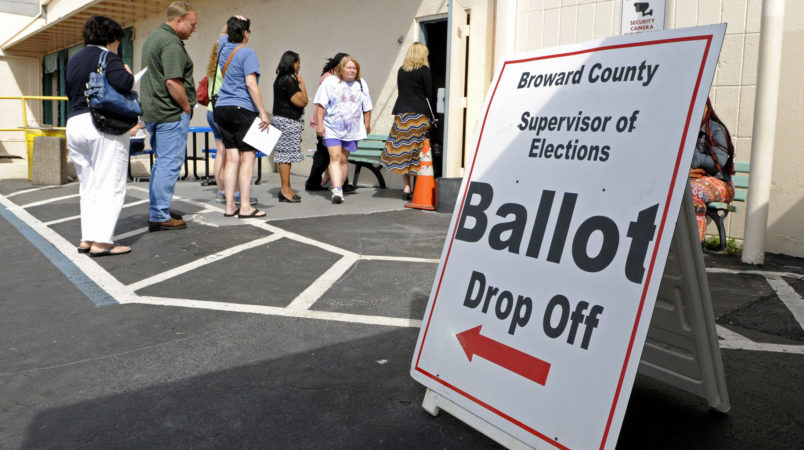 Floridians to Resolve on Ending Lifetime Ban on Voting for Felons