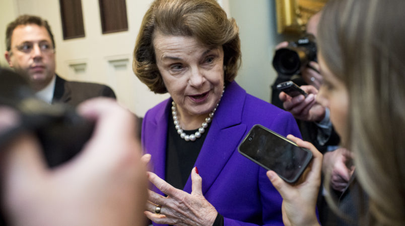 Trump chides Feinstein, urges GOP to control Russian Federation  probes