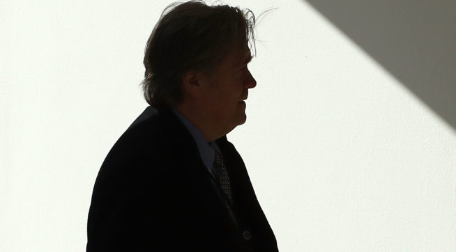 Steve Bannon Departs Breitbart News Following 'Fire and Fury' Comments