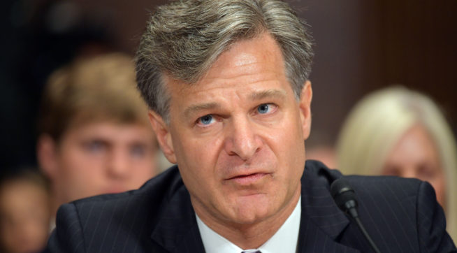 FBI Director Sticks By Position: Mueller Probe Is Not A Witch Hunt