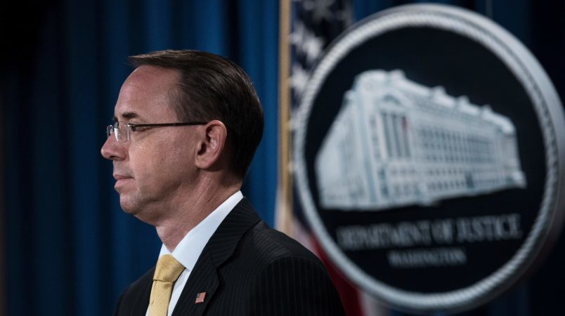 Will Trump Fire Rosenstein? Republicans Believe It Would Be a Huge Mistake