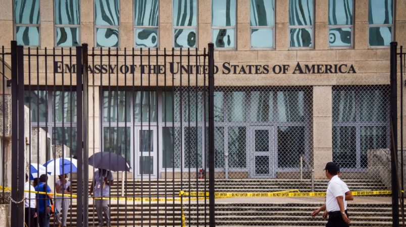 2 individuals from embassy in Cuba undergoing medical evaluation