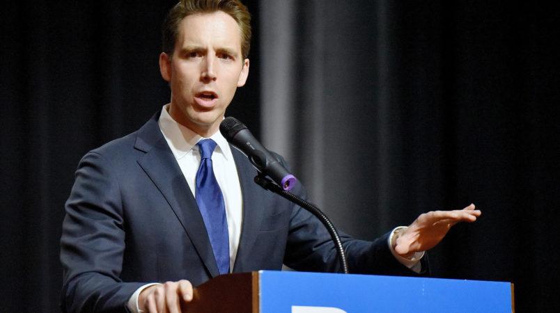 Hawley brings in $1 millionfor Senate bid, lags behind McCaskill
