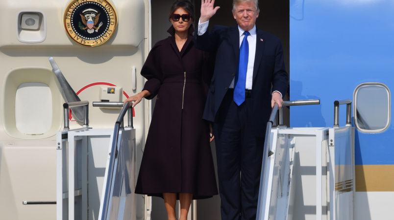 Melania Trump's First Three Months Of Travel Cost Taxpayers $675K
