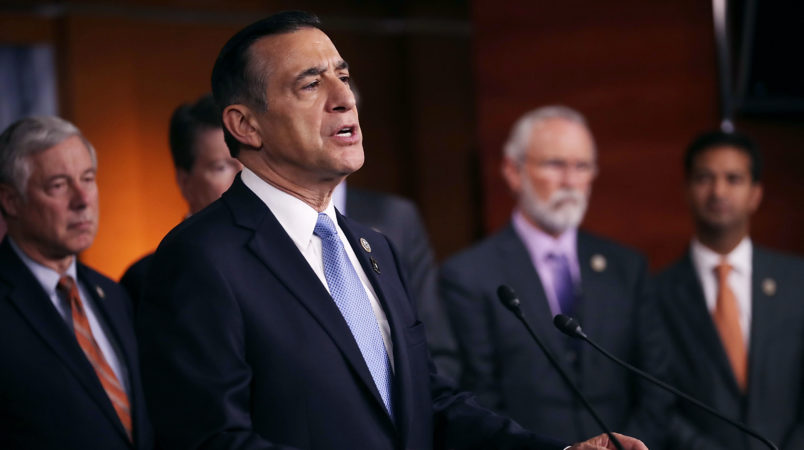 California Republican Rep. Darrell Issa won't run for re-election