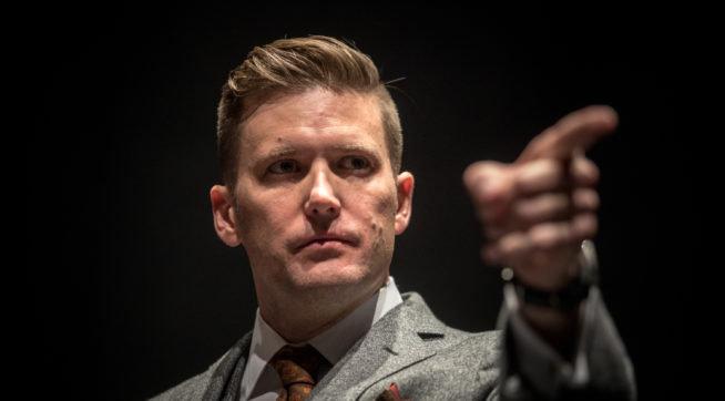 White nationalist tour organizer sues university over security costs