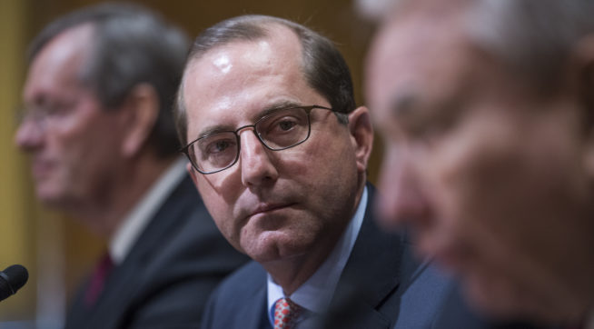 photo image HHS Secretary Alex Azar Hospitalized For Treatment Of Minor Infection
