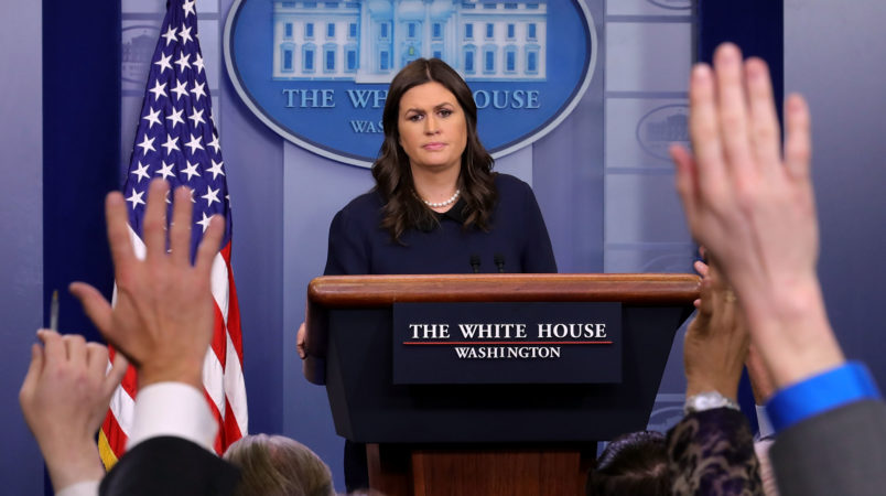 White House: Trump Can't Be Racist Because He Was on Television