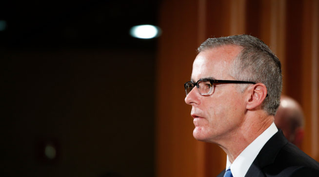 Reports: DOJ Inspector General Sends US Attorney Criminal Referral For McCabe