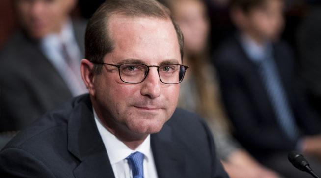 Trump's top health nominee Alex Azar testifies at Senate confirmation hearing
