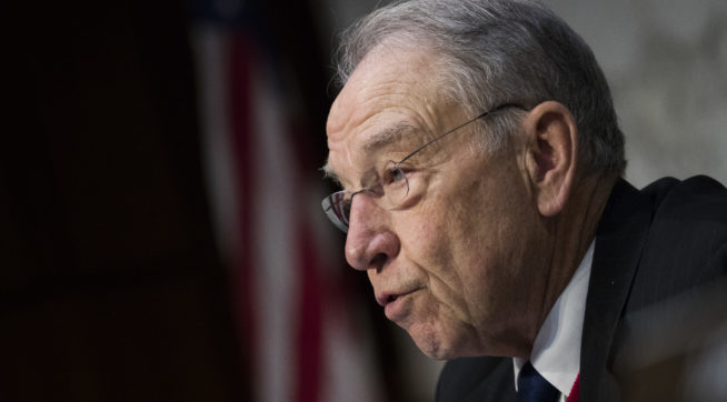 Grassley Requests Correspondence Between Steele And DOJ Official