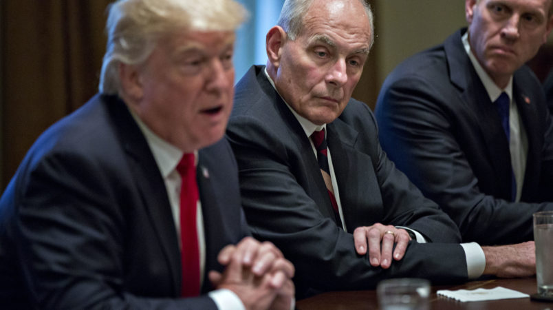 John Kelly indicates he is willing to step down