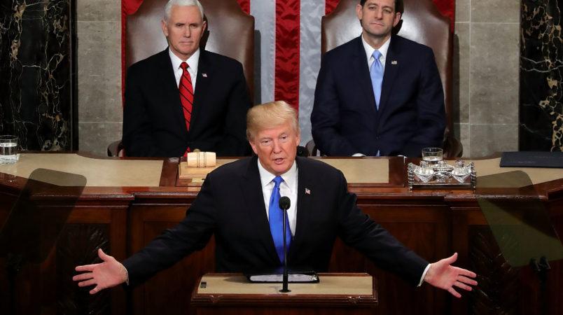 on January 30, 2018 in Washington, DC.