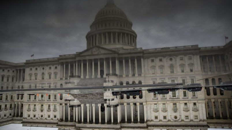 Lone Senator sends USA  hurtling towards midnight government shutdown