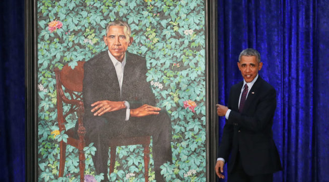 photo image Hannity Removes Post Alleging Secret Sperm Images Hidden In Obama Portrait