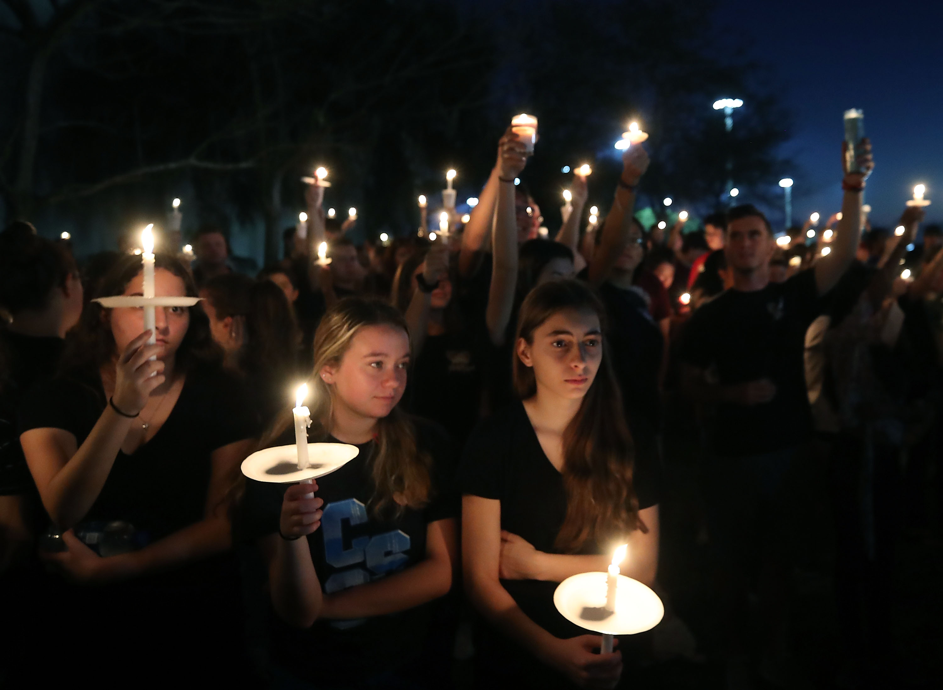 on February 15, 2018 in Parkland, Florida.